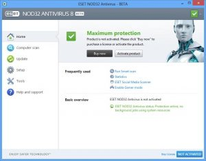eset nod32 antivirus 4 key 2019